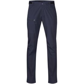 Bergans Slingsby LT Pantalones Softshell Hombre, dark navy/black